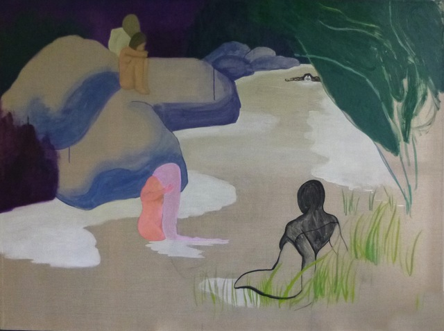 , 'Les Baigneuses,' 2017, Galerie Cécile Fakhoury - Abidjan