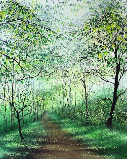 , 'Song of Spring,' 2019, Quantum Contemporary Art