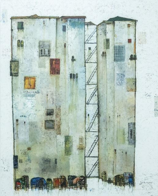 , 'White Floating Tower III,' 2019, Addis Fine Art