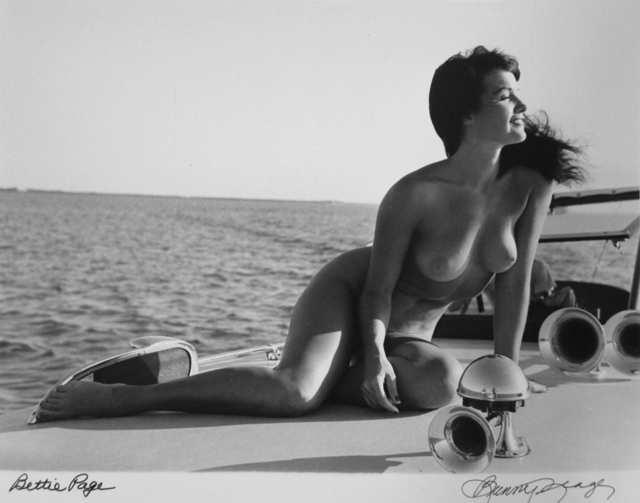 Bunny Yeager, 'Bettie Page', 1954, PDNB Gallery