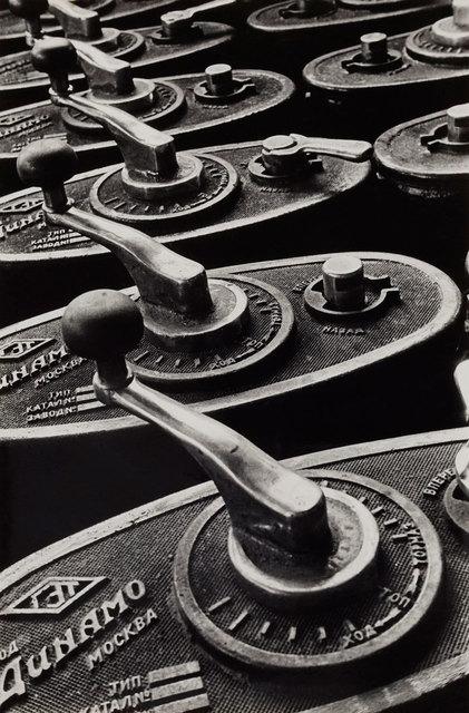 , 'Tram control levers,' 1930, Nailya Alexander Gallery