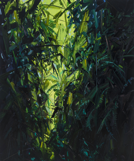, 'Leaves and Vines,' 2017, DC Moore Gallery