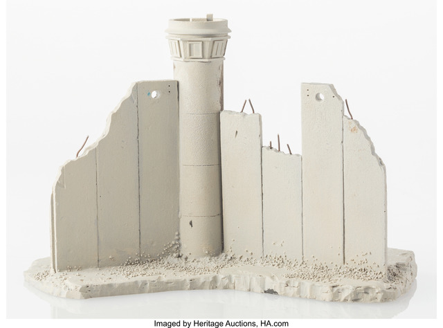 Banksy, 'Defeated', 2018, Other, Painted cast resin with concrete, Heritage Auctions