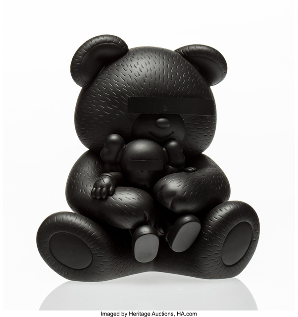 KAWS, 'Bear Companion (Black)', 2009, Heritage Auctions