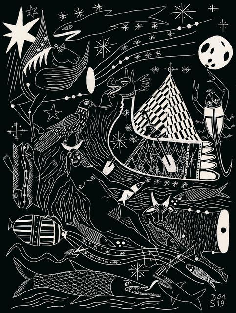 Diane Scheidecker, 'Astronomie II', 2019 (avril 2019), Galerie Sophie Scheidecker