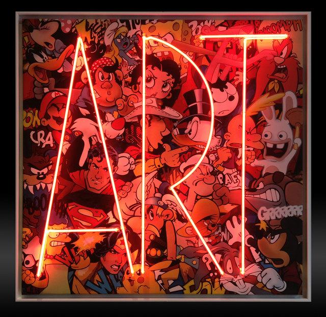 , 'Art Ziza Neon,' 2017, Eden Fine Art
