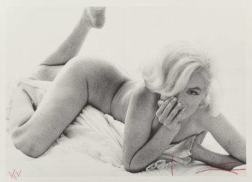 Marilyn Monroe, from the Last Sitting