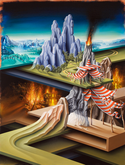 , 'Jacob's Tent on his descent to the underworld,' 2016, ARC ONE Gallery