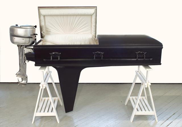 Sebastian Errazuriz, 'Boat Coffin', 2009, Cristina Grajales Gallery