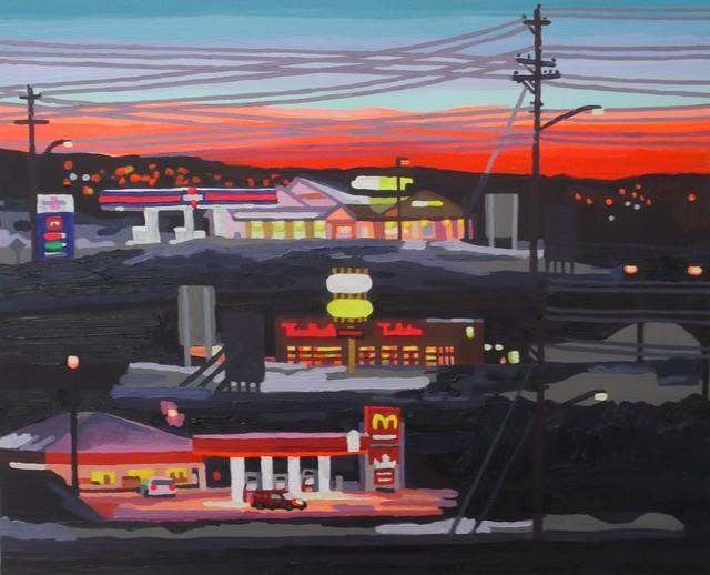 Jack Bishop, 'Dinner at a gas station', 2019, Studio 21 Fine Art