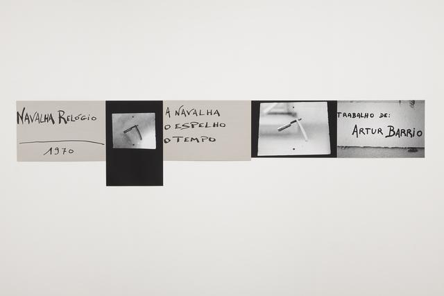 , 'Navalha relógio,' 1970, Galeria Millan