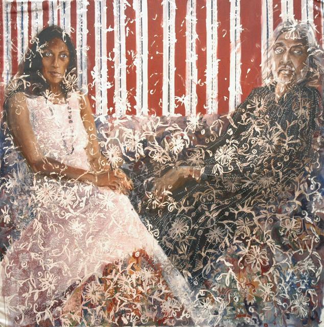 , 'Mera & Muzaffar Ali,' 2009, Wide Painting