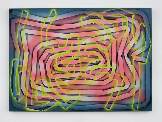 , 'Vortex,' 2017, White Cube