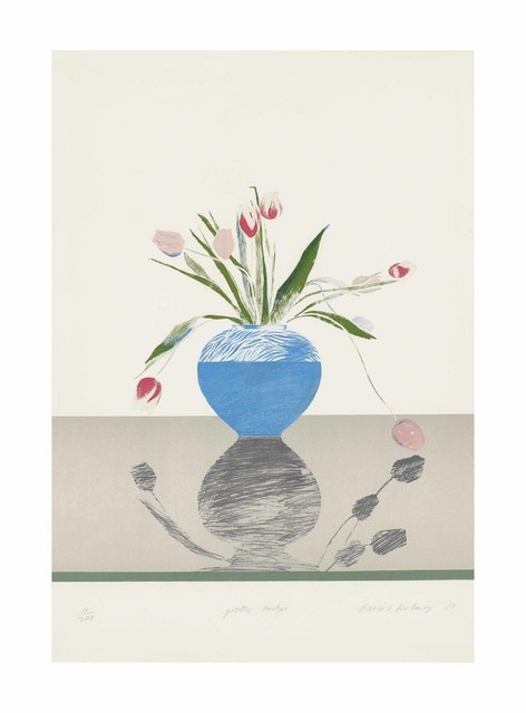 David Hockney, 'Pretty Tulips', 1969-70, Christie's