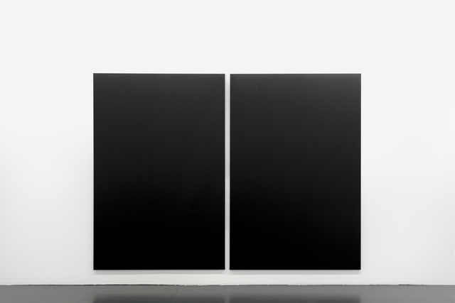 , 'natural structure #P1 diptych,' 2017, Maus Contemporary