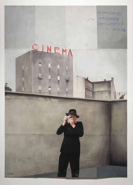 , 'Autoritrato, Milano,' 2016, Weinstein Gallery - Minneapolis