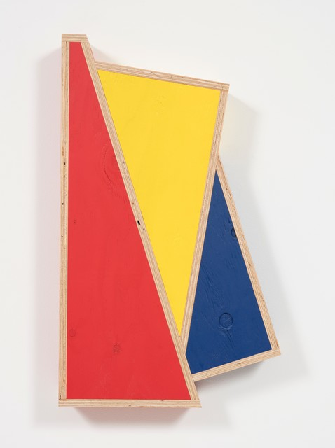 , 'Transitional Geometry in Red, Yellow and Blue (Figure 43),' 2018, Steve Turner