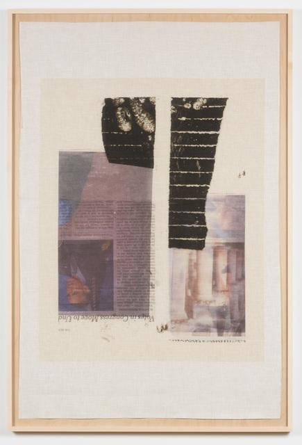 , 'Pillars (Flag Series),' 2017, Samuel Freeman