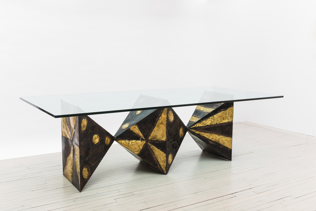 , 'Sculpted Metal Dining Table (no. PE21),' 1967, Todd Merrill Studio