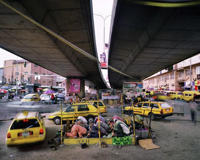 , 'Broad Street, Lagos Island, Lagos, Nigeria,' 2015, Torch