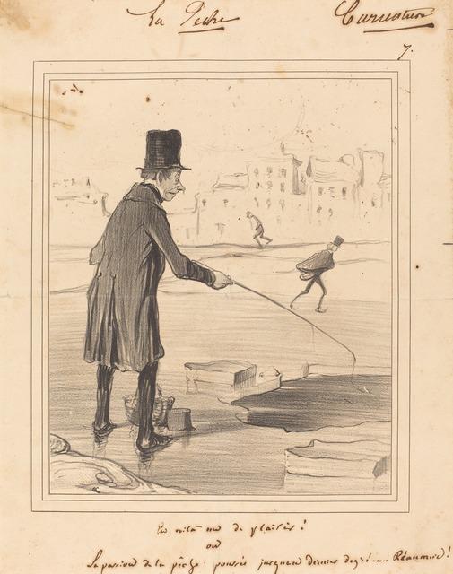 Honoré Daumier, 'En Voila un de plaisir!', 1841, National Gallery of Art, Washington, D.C.