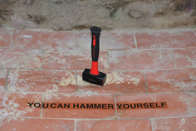 , 'YOU CAN HAMMER YOURSELF,' 2018, Hans & Fritz Contemporary