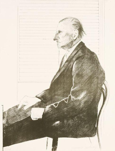 David Hockney, 'The Print Collector (Portrait Of Felix Man) (Sac 113)', 1969, Sworders