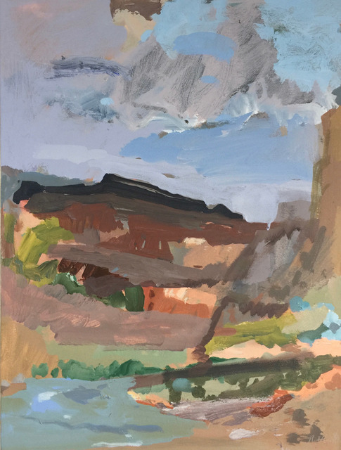 , 'Black Mesa with Emerald Pool,' 2018, David Richard Gallery