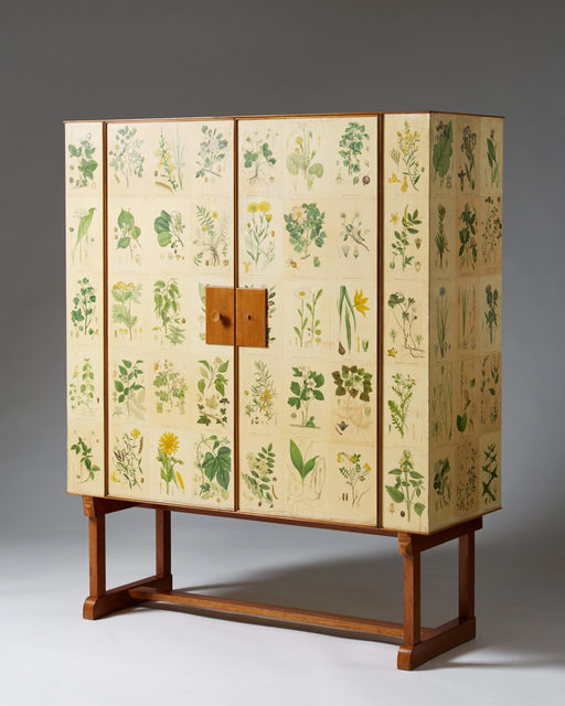 ", 'Cabinet ""Flora"" for Svenskt Tenn,' 1930-1939, Modernity"