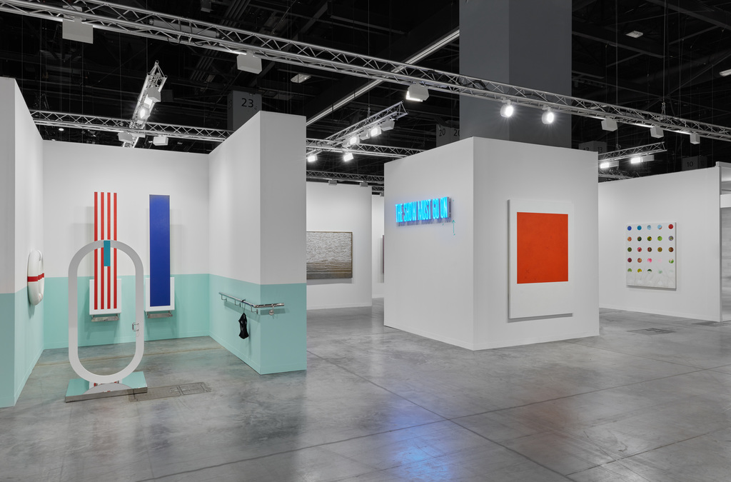 Kukje Gallery Art Basel Miami Beach 2019 booth installation view Photo: Sebastiano Pellion di Persano