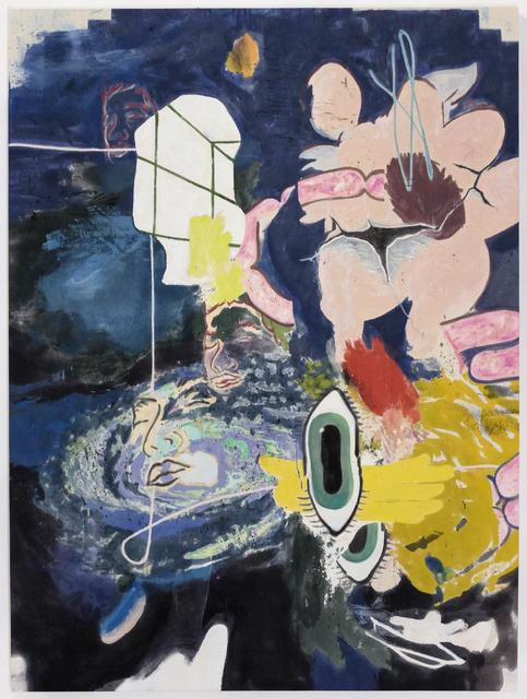 Chris Hood, 'Cosmic Sausage', 2020, Painting, Alkyd on Canvas, Eduardo Secci Contemporary