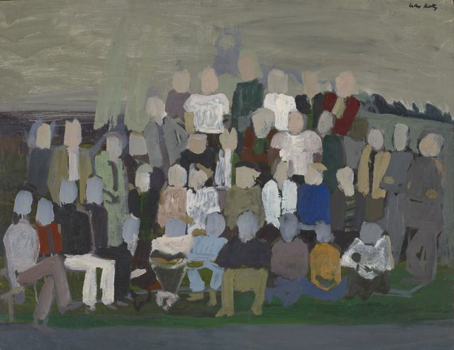 , 'Group Portrait 2,' c. 1950, Colby College Museum of Art