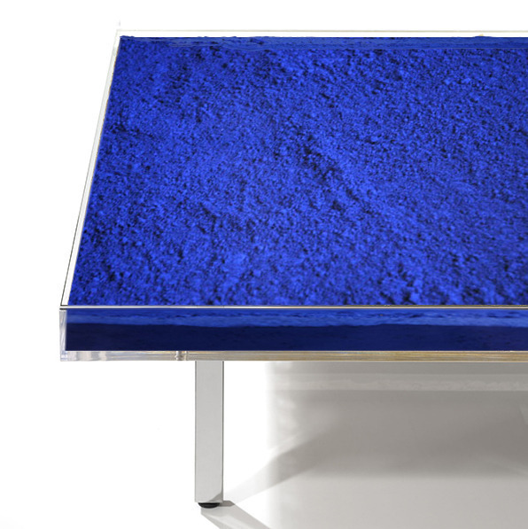 Yves Klein Table Ikb From The Edition Begun In 1963 Produced Upon Order Available For Sale Artsy