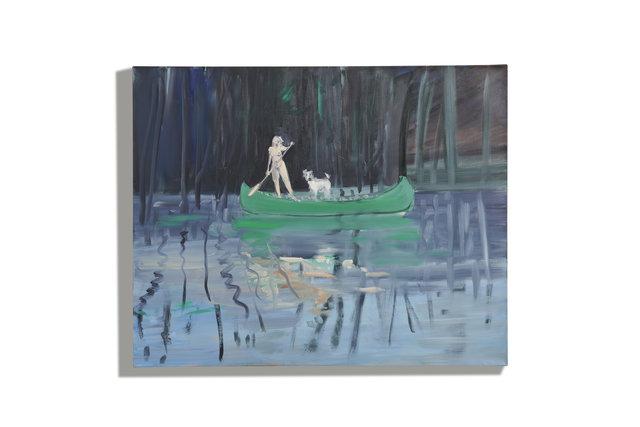 , 'Canoeist 7,' 2019, Nancy Littlejohn Fine Art