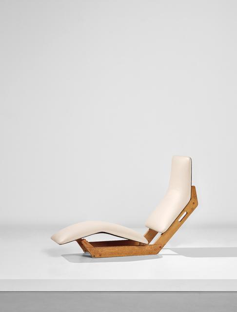 Ilmari Tapiovaara, 'Rare 'Dolphin' chaise longue', ca. 1955, Phillips