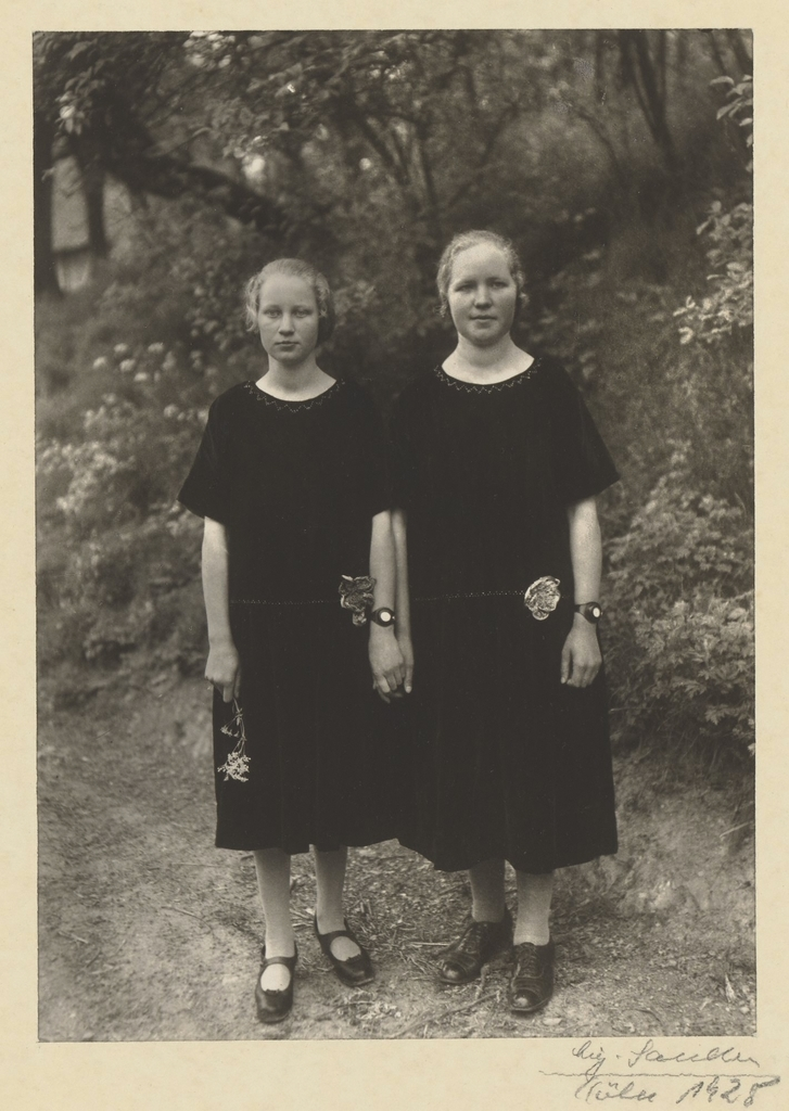 August Sander, 'Country Girls,' 1925, J. Paul Getty Museum