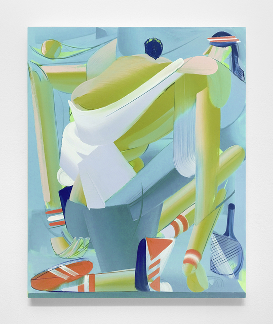 , 'Groundstroke,' 2019, Carrie Secrist Gallery
