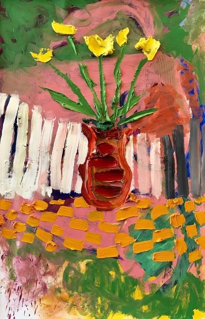 Darius Yektai, 'Red Vase', 2019, Grenning Gallery