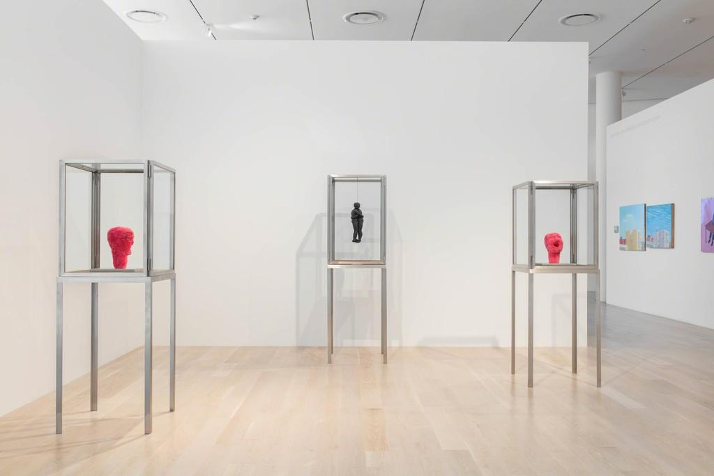 Installation view: Louise Bourgeois at Institute of Contemporary Art, Miami. Jul 13, 2018 – Jan 6, 2019. Photo: Fredrik Nilsen Studio. © The Easton Foundation/VAGA at Artists Rights Society (ARS), NY.