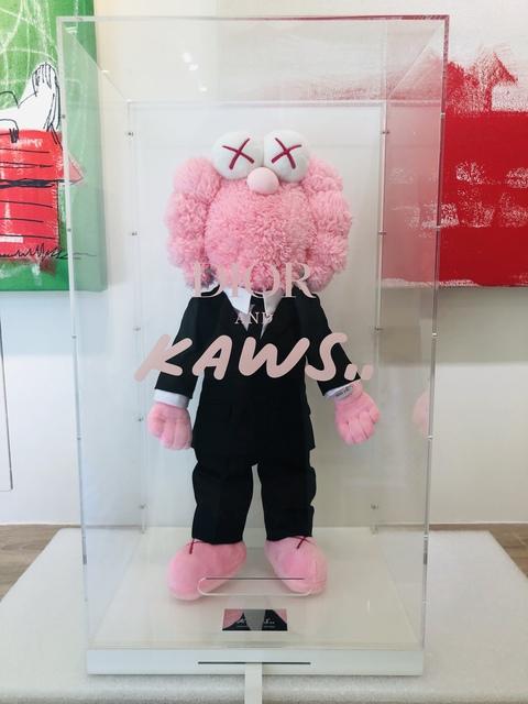 KAWS, 'Kaws BFF Dior Plush Pink', 2018, Gin Huang Gallery