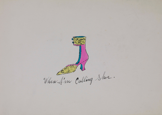, 'When I'm Calling Shoe,' 1955, Susan Sheehan Gallery