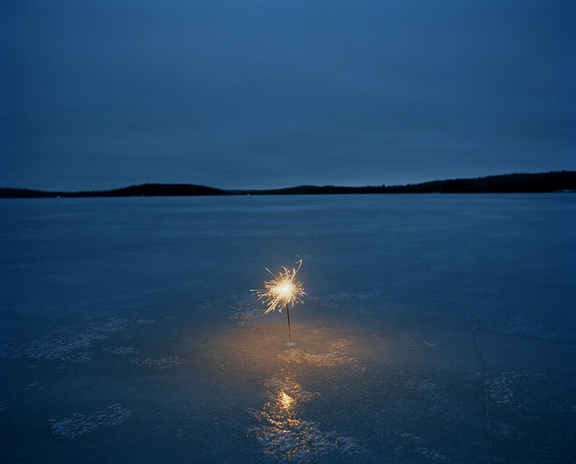 , 'A sparkler on a frozen lake,' 2006, ClampArt