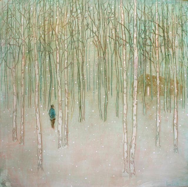 , 'Woodland Cabin (Study),' 2017, Sarah Wiseman Gallery