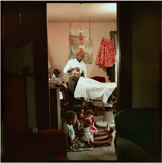 , 'In-home Barbershop, Shady Grove, Alabama ,' 1956, Rhona Hoffman Gallery