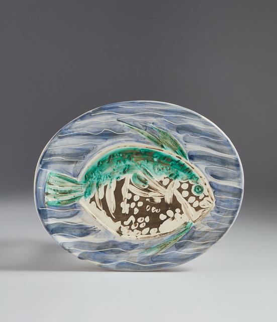 Pablo Picasso, 'Blue fish (Poisson bleu)', 1953, Phillips