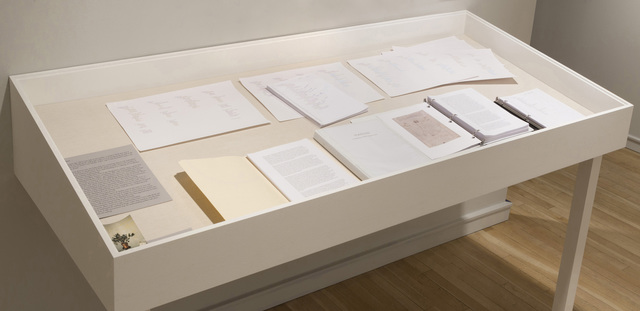 , 'TOOLTAX: A classification of all the things we make,' 2013, Pace/MacGill Gallery