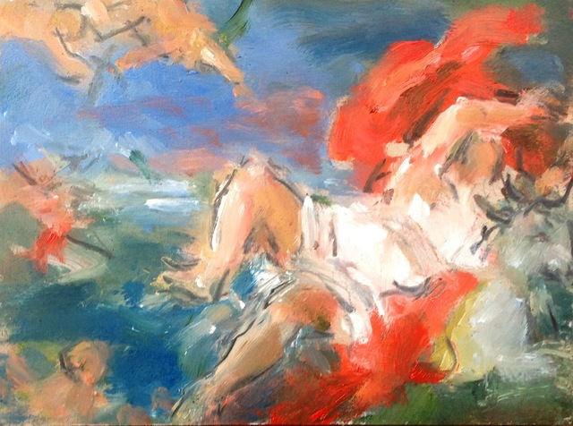 , 'Study after Titan's 'Rape of Europa',' 2015, Cynthia Corbett Gallery