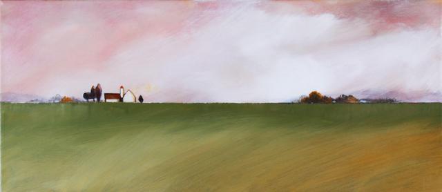 , 'The Farm on the Horizon,' 2019, Petroff Gallery