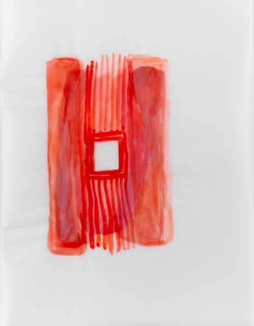 , 'Red Building,' 2012, Pi Artworks Istanbul/London