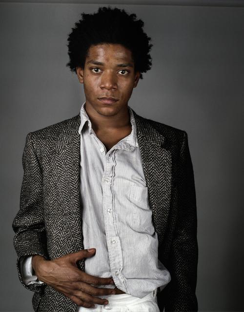 , 'Basquiat A Portrait V,' 1984, Peter Fetterman Gallery